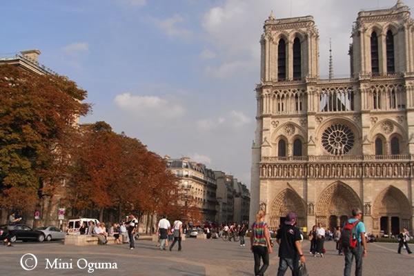 秋のフランス
